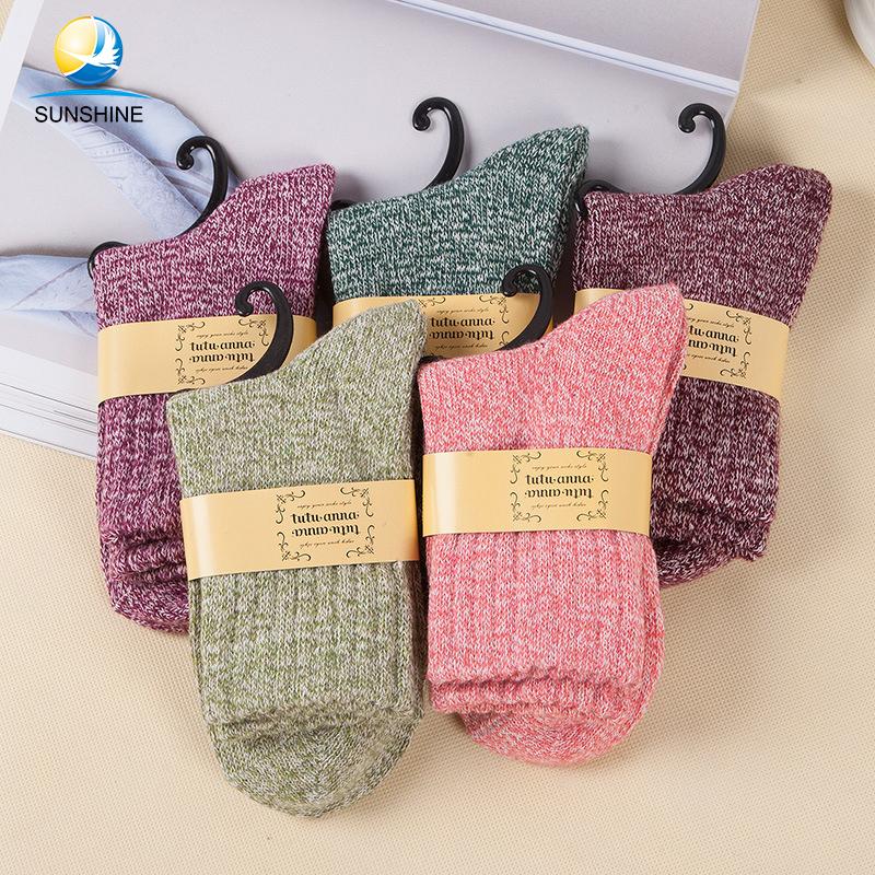 2018 New Arrival Wool Hiking Socks Women Wholesale фото
