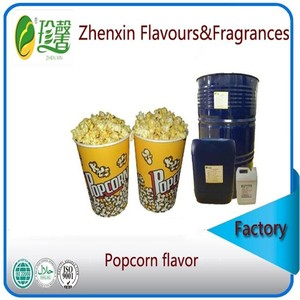 natural and concentrated popcorn essence flavour, synthetic popcorn flavor and fragrance