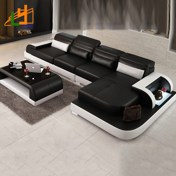 Modern Luxury New Designs Sectional Sofa Set L Shaped Furniture Living Room  Sofa With Tea Poy - Buy Furniture Living Room Sofa,Furniture Living Room ...