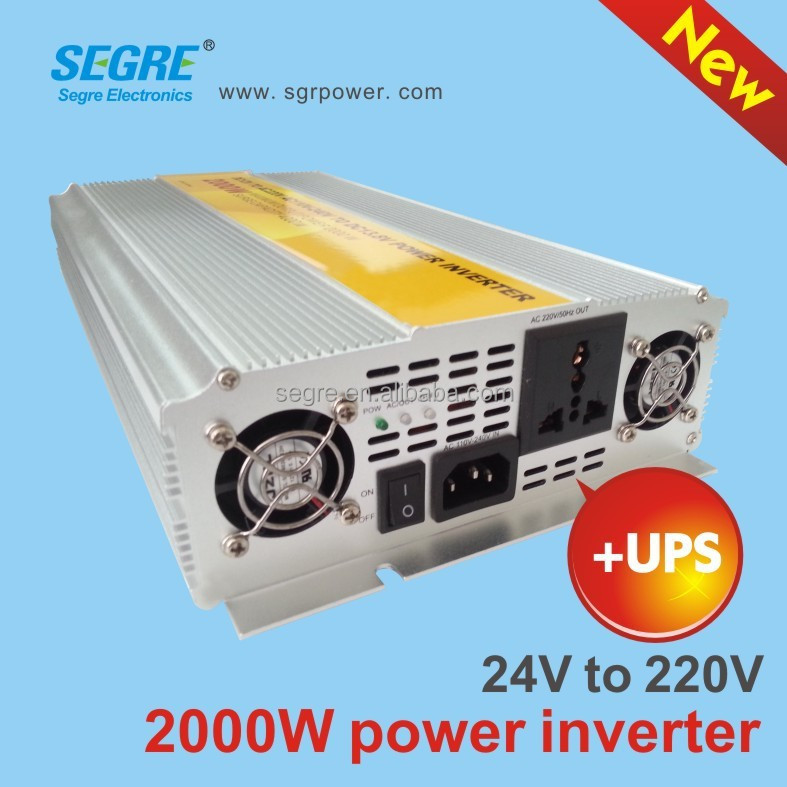 <strong>dc</strong> 24v to ac 220v off grid solar powered inverters 2000w