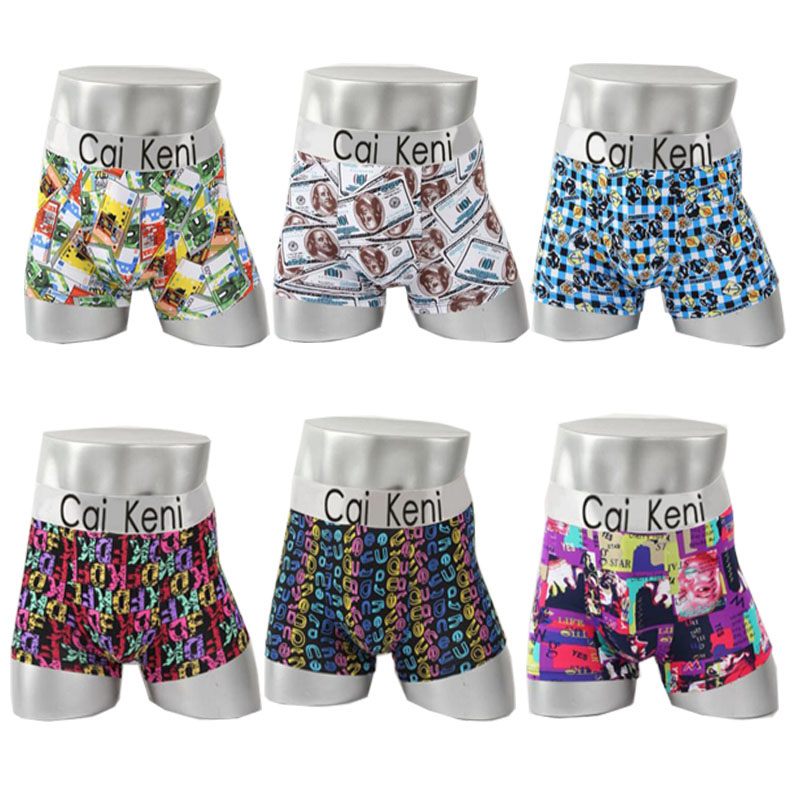 Wholesale cheap printing fashion sexy mens lace underwear