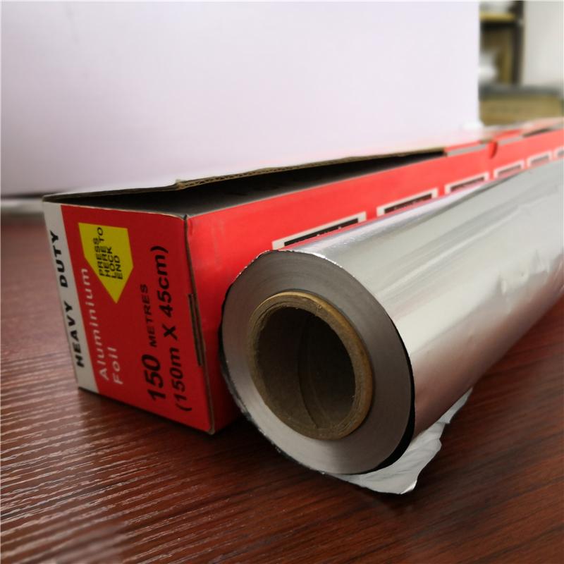 20mic thick premium quality cooking pure aluminium foil 45cm for food