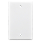 Blank Wall Plate Face plate telephone plastic outlet cover Electric wall switch plate