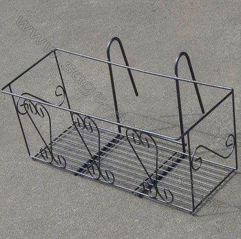 Wrought Iron Window Box Cage Product On Alibaba