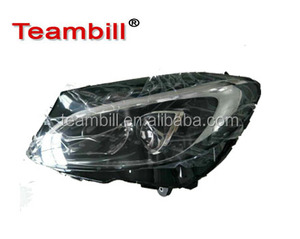 headlamp For mercedes w205 headlight C class C250 with HID xenon Led 2015