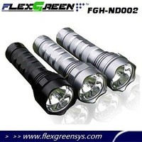 rechargeable 18650 35W tactical flashlight hid xenon