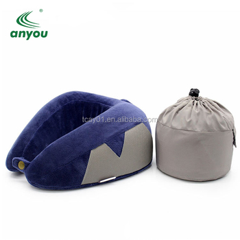 Travel Pillow, Inflatable Travel and Neck Pillow for Head and Neck/custom u shape pillow
