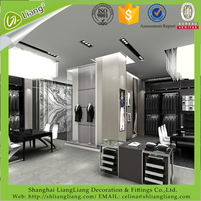 Latest design garment/clothes store fair price furniture store