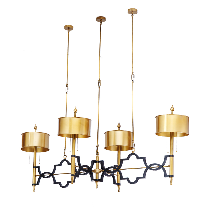 drum pendant chandelier