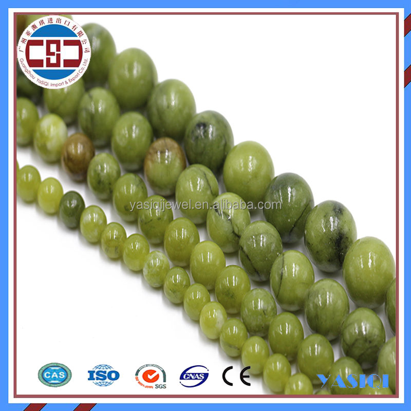 Wholesale top quality natural loose emerald gemstone stone beads strand