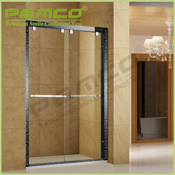 Wholesale Hotel Bathroom 304sus Tempered Glass Custom Free Standing ...
