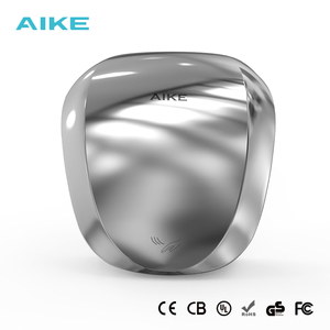 China Factory Professional Hand Dryer Manufacturer AIKE Automatic Stainless Steel Hand Dryer with HEPA