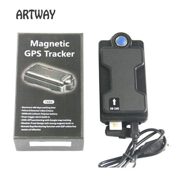 lowest price Strong Magnet GSM GPRS GPS Tracker Car Vehicle trackers waterproof IPX7 gsm position car gps tracker drop alarm