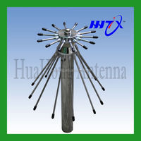 Factory price stainless steel Discone broadband 480-700mhz base station antenna