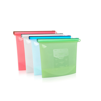 Hot Sales Reusable Vacuum Ziplock Cooking Sandwich Stasher Fresh Silicone Food Storage Bag
