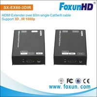 Digital Hdmi Extender By Single Cat 5E/6/7 up to 200ft with IR support(if Loopout needed, please let me know it)