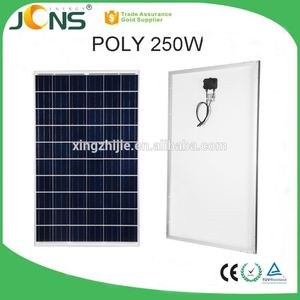 poly crystalline solar cell 330W 320 watt solar panel with junction box