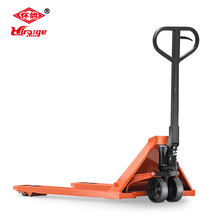 2016 OEM 1150mm*550mm CBY-AC Hand Pallet Truck with Twin Roller with scale 2500kg
