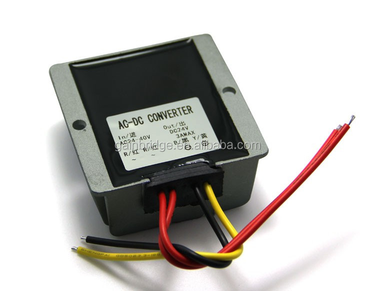 24V 36V AC to 12V DC converter power supply, 1A/2A/3A, Manufacturer, Customization available