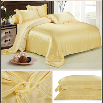 Whole Price Luxury Bed Linen Fabric Chinese Silk Bedding
