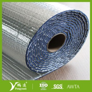 Aluminum thermal reflective foil insulation,double bubble foil insulation
