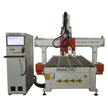 Economic Type Oscillating knife Wood Cutting 3d Cnc Milling Machine for Hot sale