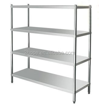 Display Stand Metal Display Rack Kitchen Stainless Steel Shelves