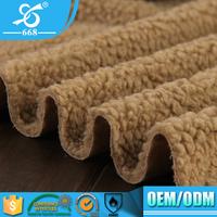 Best Quality Lightweight Weft Knitting Velvet Touch Soft Fleece Fabric