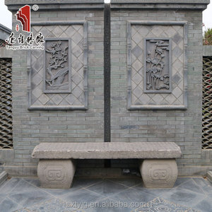 Chinese decorative wall relief panels hand stone carving statues