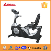 Home use fitness equipment magnetic exercise recumbent bike