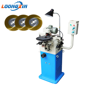 Low price cnc automatic metal band hss carbide circular cold saw blade disc tooth sharpening machine