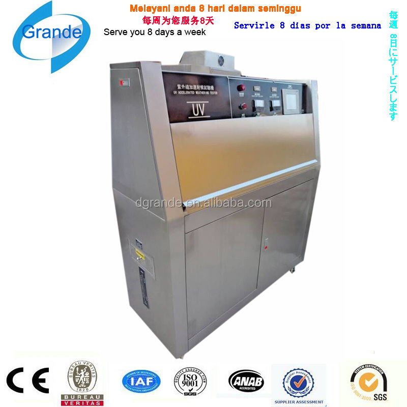 UV Light Simulation Programmable UV aging chamber/UV weathering testing equipment
