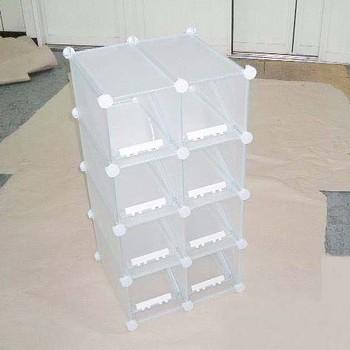 Schoenenkast Voor 16 Paar Schoenen.Flexibele Kubieke Schoenenrek Kaartenbakken Manden Houdt 16 Paar