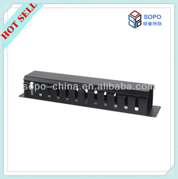 1U 12ports 16ports 24ports Rack Cable Manager
