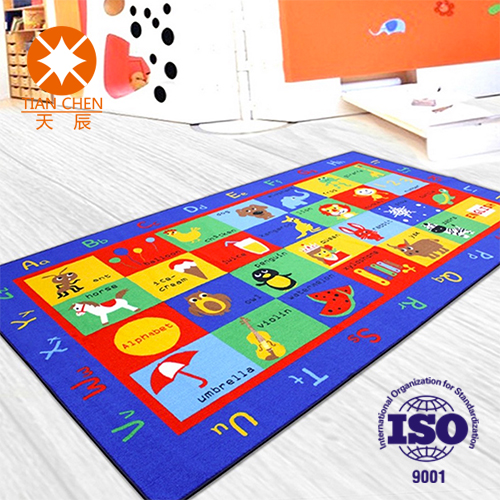Designed Waterproof Fire Resistant Anti-slip Children Playing Rug