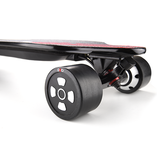 Fastest 2000w 36V LG Lithium-ion hoverboard electric skateboard with removable battery pack