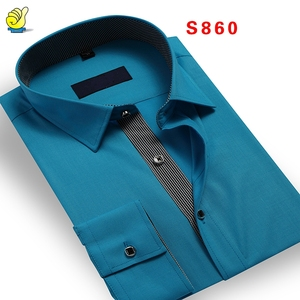 Men dress shirts western office wear formal men wear 2017