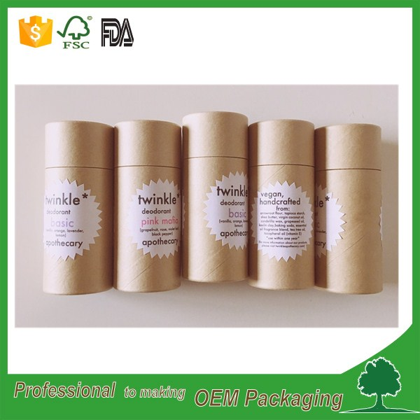 Eco paper packaging lipbalm tube manufacturer wholesale for lip balm packaging