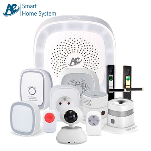 AC brand CE FCC RoHS APP control wifi Zigbee Zwave home automation uk smart home security products