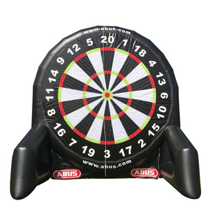 PVC0.9mm inflatable football soccer dart board for sports game outdoor activity soccer dart for sale