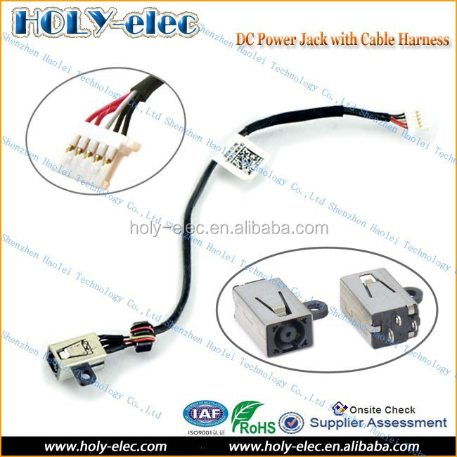 New Genuine DC Power Input Charger Jack with Cable for Dell XPS 13 L321x GRM3D(PJ587)