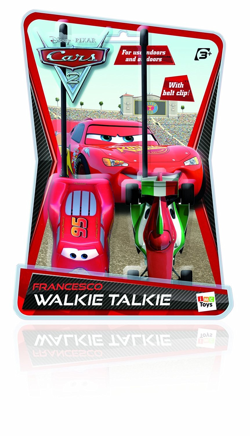 Imc Toys Cars 2 Francesco And Mcqueen Walkie Talkie