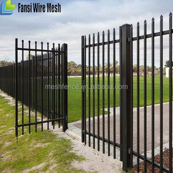 Supplier Steel Picket Fence Gates