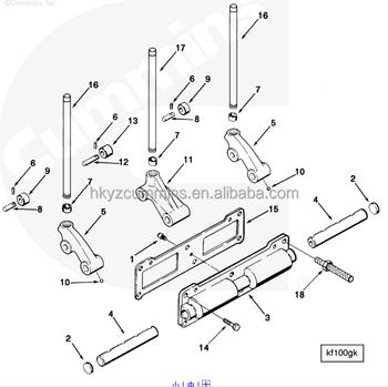 Diesel Engine Spare Parts Nta855 Cam Follower Gasket 3062354 View