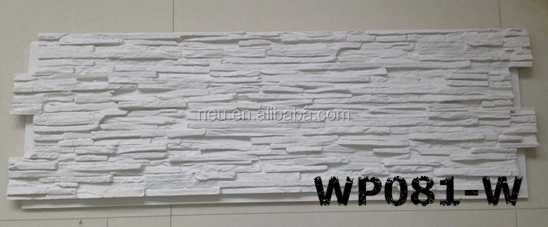 Polyur thane faux pierre panneau mural imitation nouilles - Paneles imitacion piedra para interiores ...