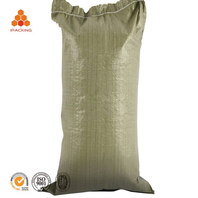 50 kg recycled industrial african low cost sand rubbish cement pp bag woven for building rubbish