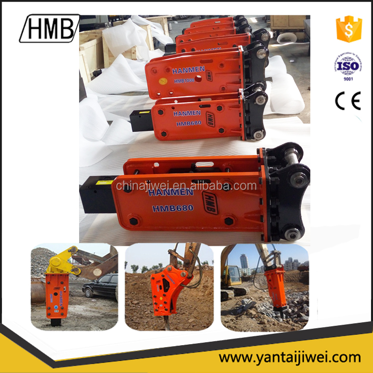 hydraulic rock breaker HMB680 for sale with low price