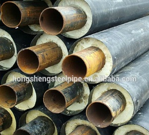 pe uv resistant flexible foam insulation steel tube