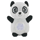 Hot Seller Stuffed Plush Toy Embroidery Baby Animal Sleep Sound Noises Plush Doll