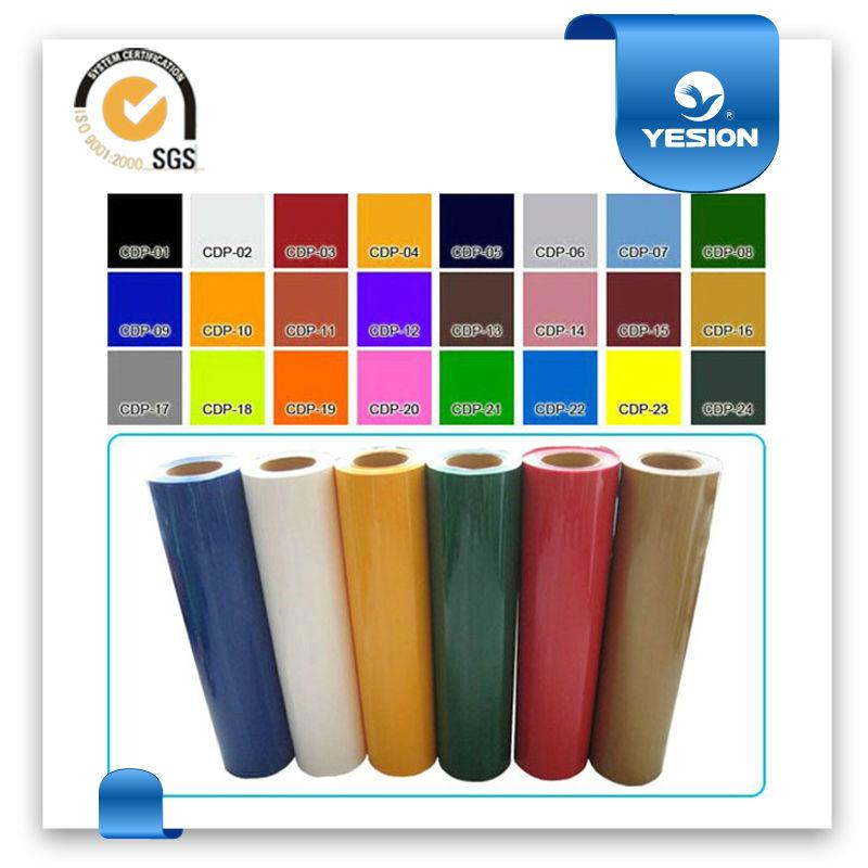 Hot sell rollo vinilo autoadhesivo con 35 tipos de colores - Papel vinilo autoadhesivo ...